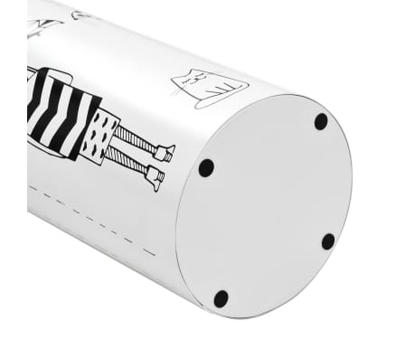 vidaXL Regenschirmständer Frauen-Design Stahl Weiß[4/6]
