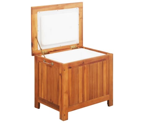 vidaXL Chladicí box 63 x 44 x 50 cm masivní akáciové dřevo