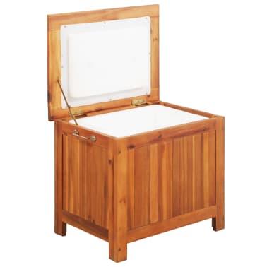 vidaXL Nevera portátil de madera maciza de acacia 63x44x50 cm[1/9]