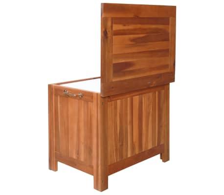 vidaXL Nevera portátil de madera maciza de acacia 63x44x50 cm[3/9]