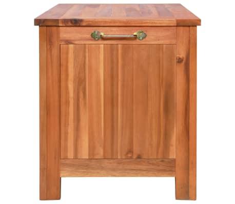vidaXL Nevera portátil de madera maciza de acacia 63x44x50 cm[7/9]