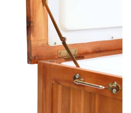 vidaXL Nevera portátil de madera maciza de acacia 63x44x50 cm[8/9]