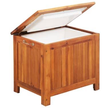 vidaXL Nevera portátil de madera maciza de acacia 63x44x50 cm[4/9]