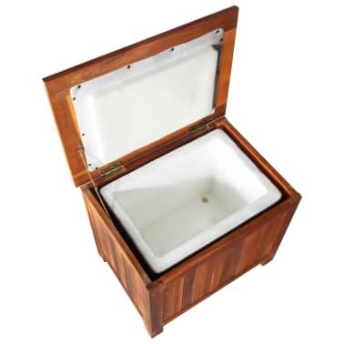 vidaXL Nevera portátil de madera maciza de acacia 63x44x50 cm[5/9]