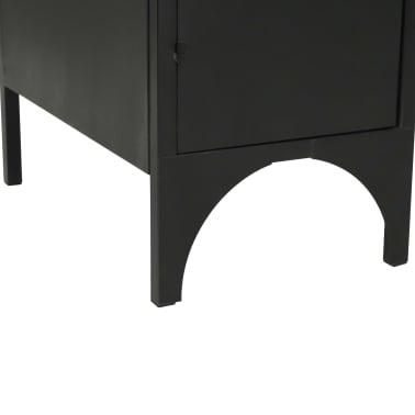 vidaXL Dvojna pisalna miza trden les jelke in jeklo 120x50x76 cm[12/13]