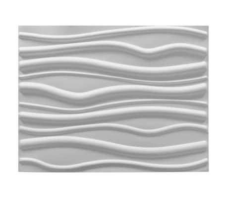 vidaXL Sienos plokštės, 12 vnt., 0,8x0,625 m, 6m², 3D[2/6]