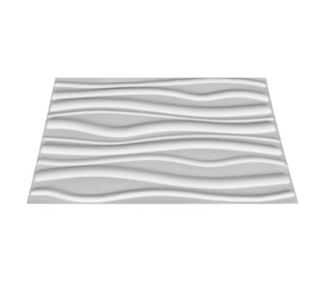 vidaXL Sienos plokštės, 12 vnt., 0,8x0,625 m, 6m², 3D[3/6]