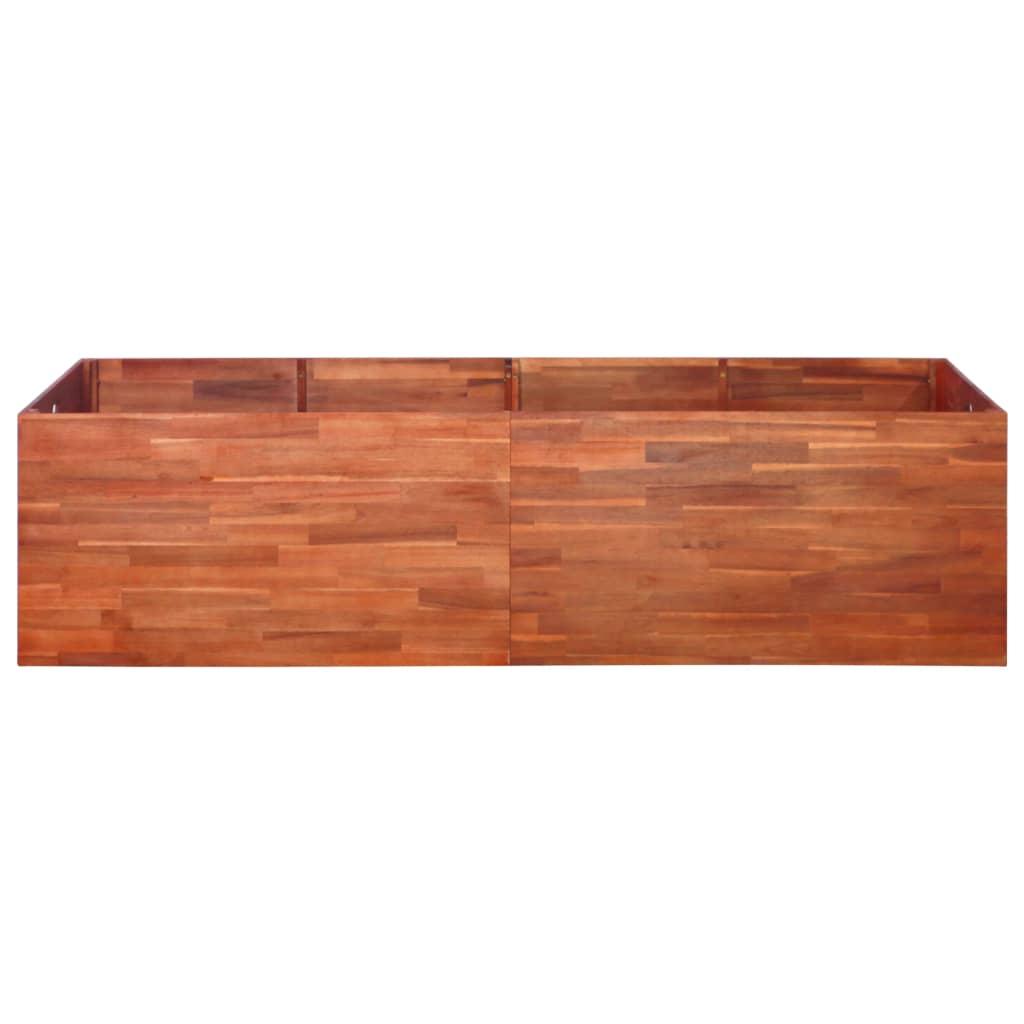 vidaXL Plantenbak 200x100x50 cm acaciahout