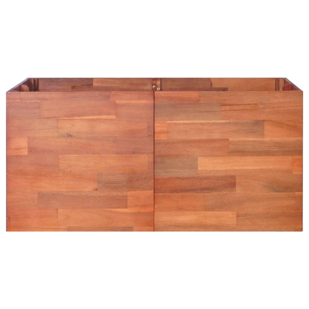 vidaXL Plantenbak 100x100x50 cm acaciahout