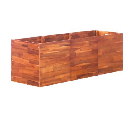 vidaXL Vrtna sadilica od bagremovog drva 150 x 50 x 50 cm[1/6]