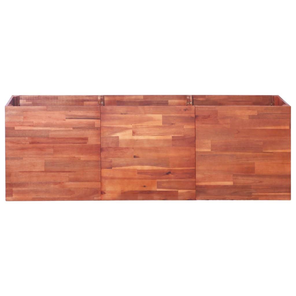 vidaXL Plantenbak 150x50x50 cm acaciahout