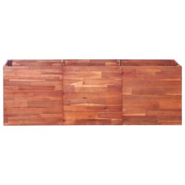 vidaXL Vrtna sadilica od bagremovog drva 150 x 50 x 50 cm[2/6]