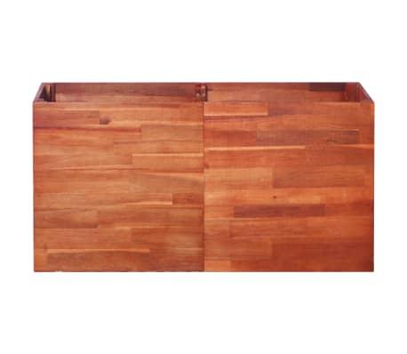 vidaXL Garden Planter Acacia Wood 100x50x50 cm[3/6]