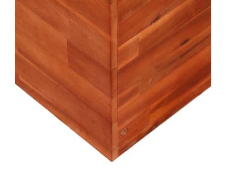 vidaXL Garden Planter Acacia Wood 100x50x50 cm[4/6]