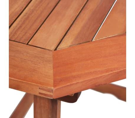Vidaxl Madera Maciza De Acacia Mesa Plegable Para Balcon Mobiliario