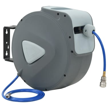 "vidaXL Automatic Air Hose Reel 1/4""[1/10]"