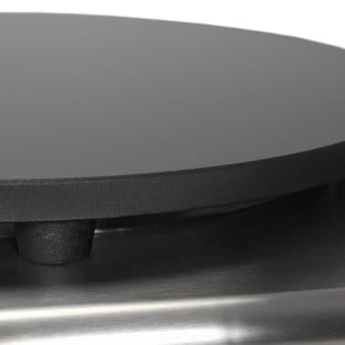 vidaXL Elektrinė lietinių blynų keptuvė su ištrauk. pad., 40cm, 3000W[6/7]