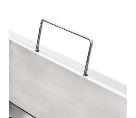 vidaXL Elektrisk fritös rostfritt stål 10 L 3000 W[15/16]