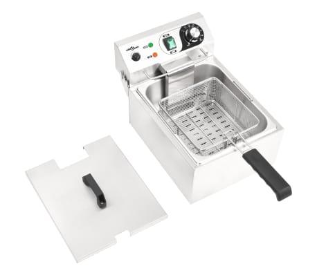 vidaXL Elektrisk fritös rostfritt stål 10 L 3000 W[5/16]