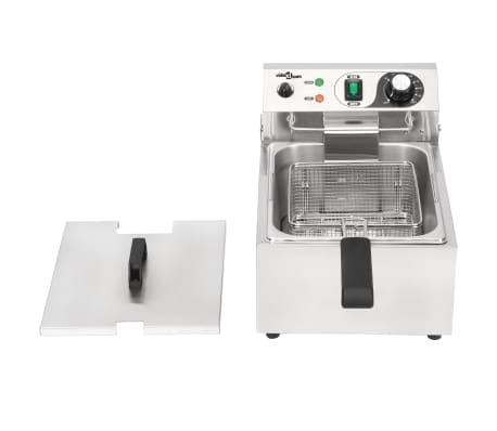 vidaXL Elektrisk fritös rostfritt stål 10 L 3000 W[10/16]