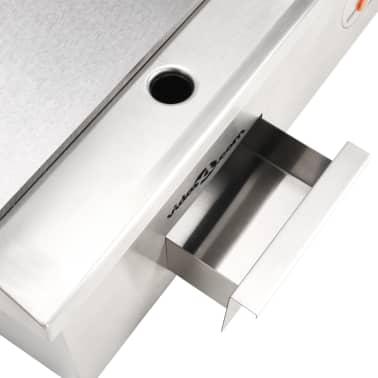 vidaXL Elektrinė keptuvė, nerūdijantis plienas, 3000W, 54x41x24cm[10/10]