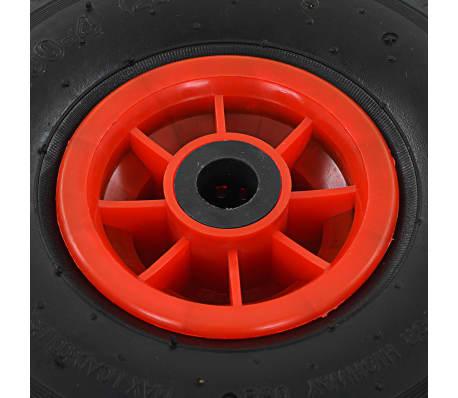 vidaXL Sackkarrenräder 4 Stk. Gummi 3,00 - 4 (260x85)[5/5]