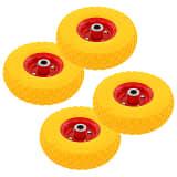 vidaXL Kolesa za ročni voziček 4 kosi guma 3,00-4 (260x85)
