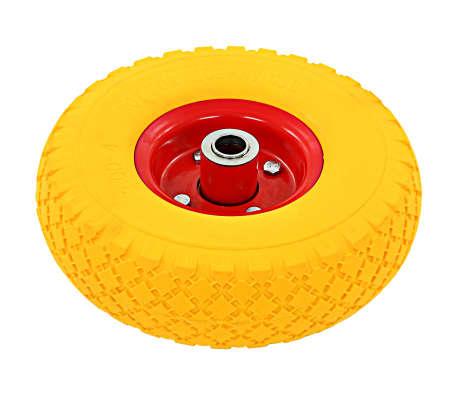 vidaXL Steekwagenwielen 3,00-4 (260x85) rubber 4 st[4/6]