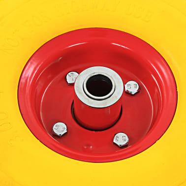 vidaXL Steekwagenwielen 3,00-4 (260x85) rubber 4 st[6/6]