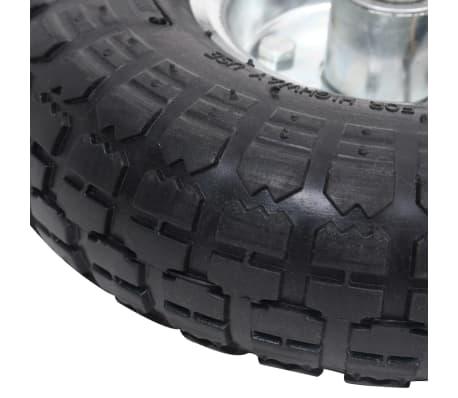 vidaXL Hjul till säckkärra 2 st gummi 4.10/3.50-4 (260x83)[5/5]
