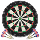 vidaXL professionel dartskive i sisal med 6 dartpile