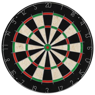 vidaXL Dartbord professioneel met kast en 6 darts sisal[3/7]