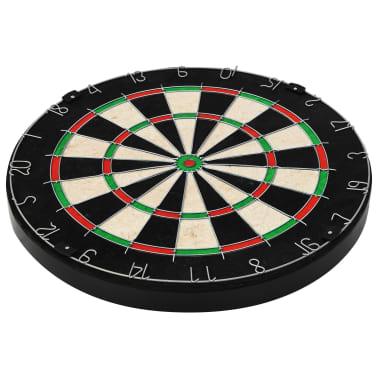 vidaXL Dartbord professioneel met kast en 6 darts sisal[6/7]