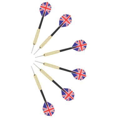 vidaXL Dartbord professioneel met kast en 6 darts sisal[7/7]