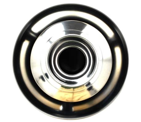 vidaXL Chokladfontän rostfritt stål svart 60 W[6/7]