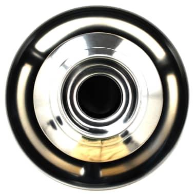vidaXL chokoladefontæne rustfrit stål sølvfarvet 250 W[6/7]