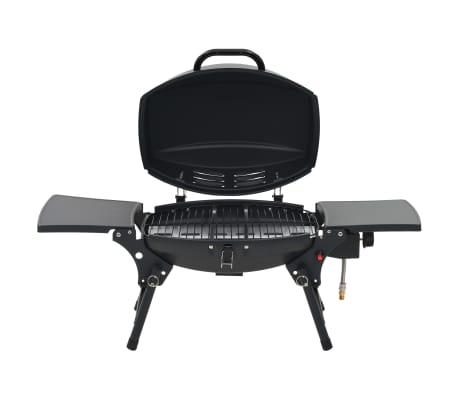 vidaXL Gasbarbecue met kookzone zwart[2/12]