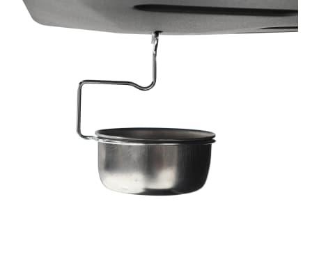 vidaXL Gasbarbecue met 6 kookzones staal zwart[6/6]