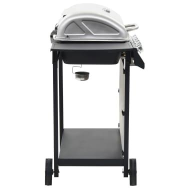vidaXL Barbecue Griglia a Gas 6 Fornelli Acciaio Inossidabile Argento[4/10]