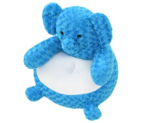 vidaXL kék elefánt plüssjáték[2/4]