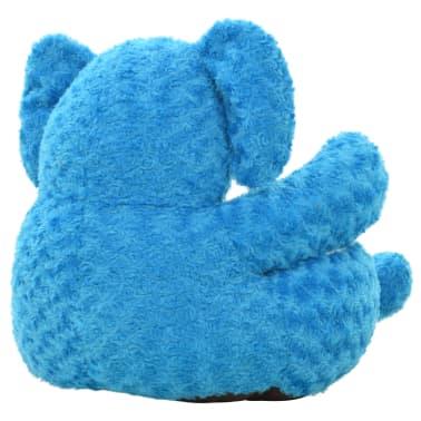 vidaXL kék elefánt plüssjáték[3/4]