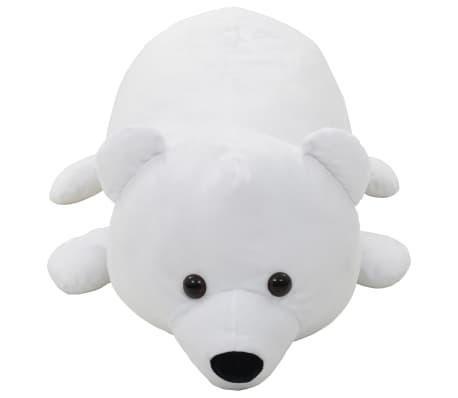 vidaXL Pluszowy miś polarny przytulanka, biały[2/5]