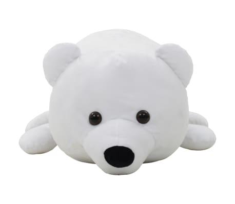 vidaXL Pluszowy miś polarny przytulanka, biały[3/5]