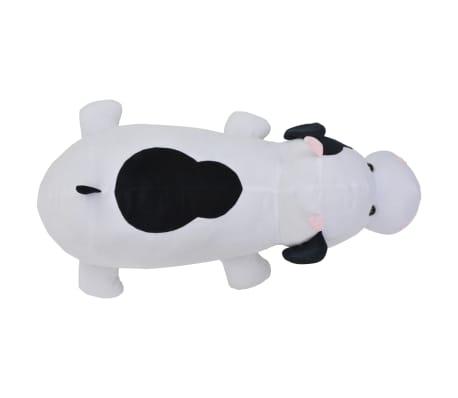 vidaXL Vache en peluche Blanc et Noir[4/5]
