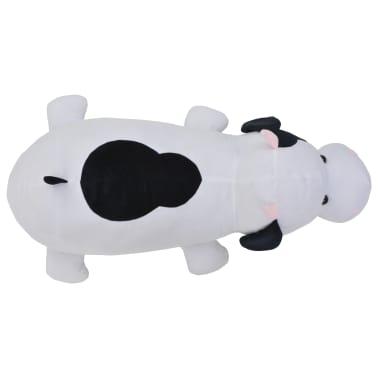vidaXL fekete-fehér tehén plüssjáték[4/5]