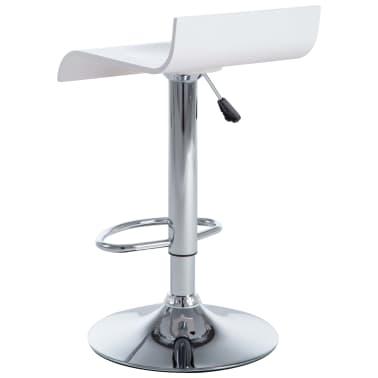 vidaXL Barové stoličky 2 ks bílé[5/9]