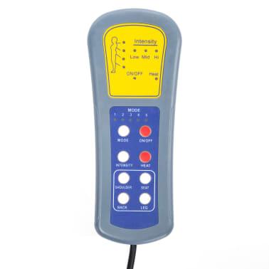 vidaXL Fauteuil électrique à bascule de massage Similicuir Noir[13/15]