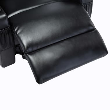 vidaXL Elektrischer Massagesessel Schaukelsessel Kunstleder Schwarz[10/14]