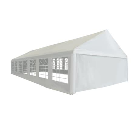 vidaXL fehér PE partisátor 6 x 14 m