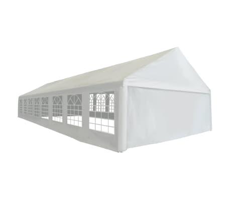 vidaXL fehér PE partisátor 6 x 16 m